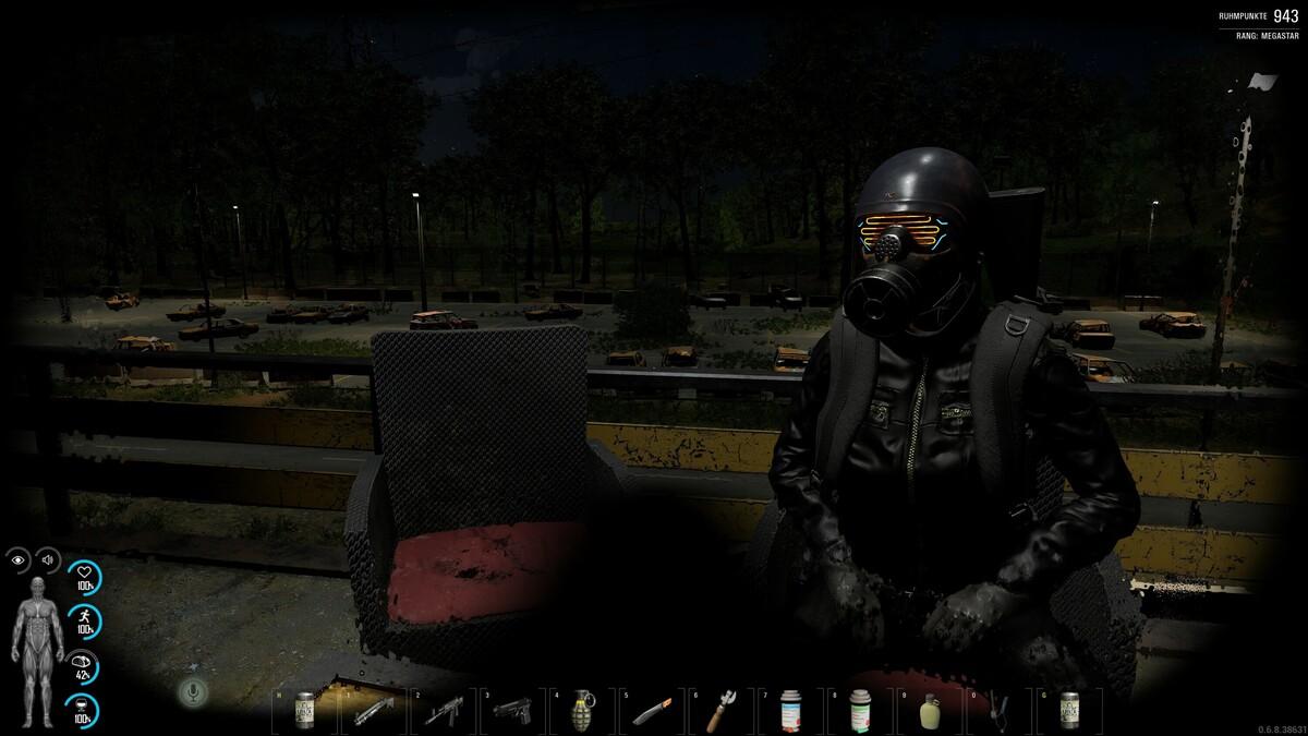 relaxen am Airfield