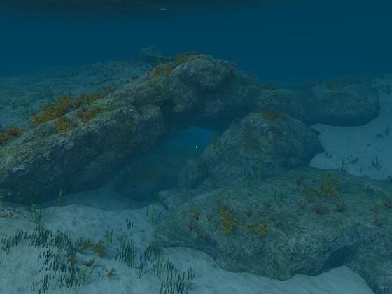 Unterwasserhöhle A1