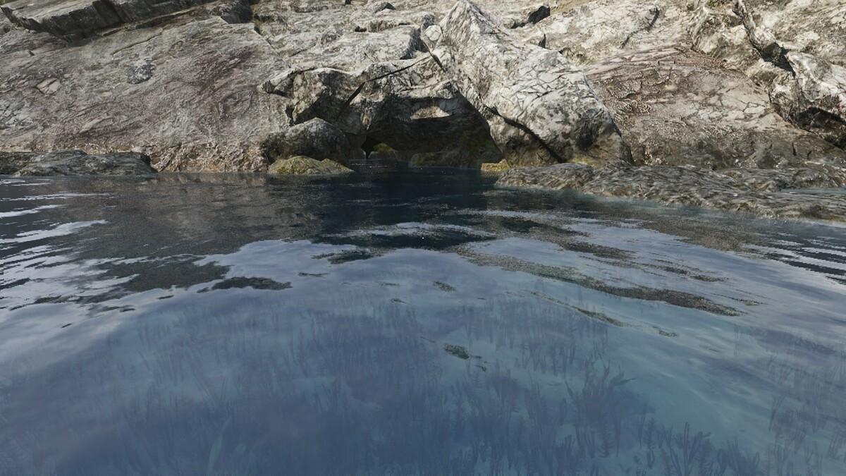 Unterwasserhöhle A4