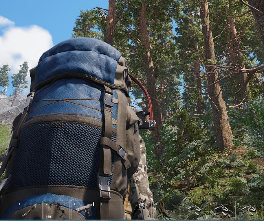 Feind auf Bäumen