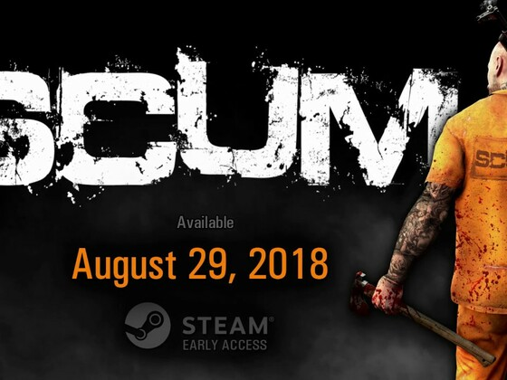 SCUM - Early Access Launch Trailer