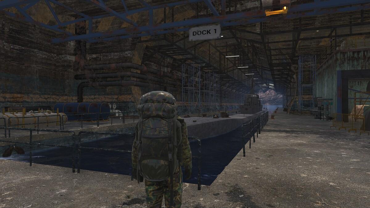 U-Boot Basis im Süd-Westen 1