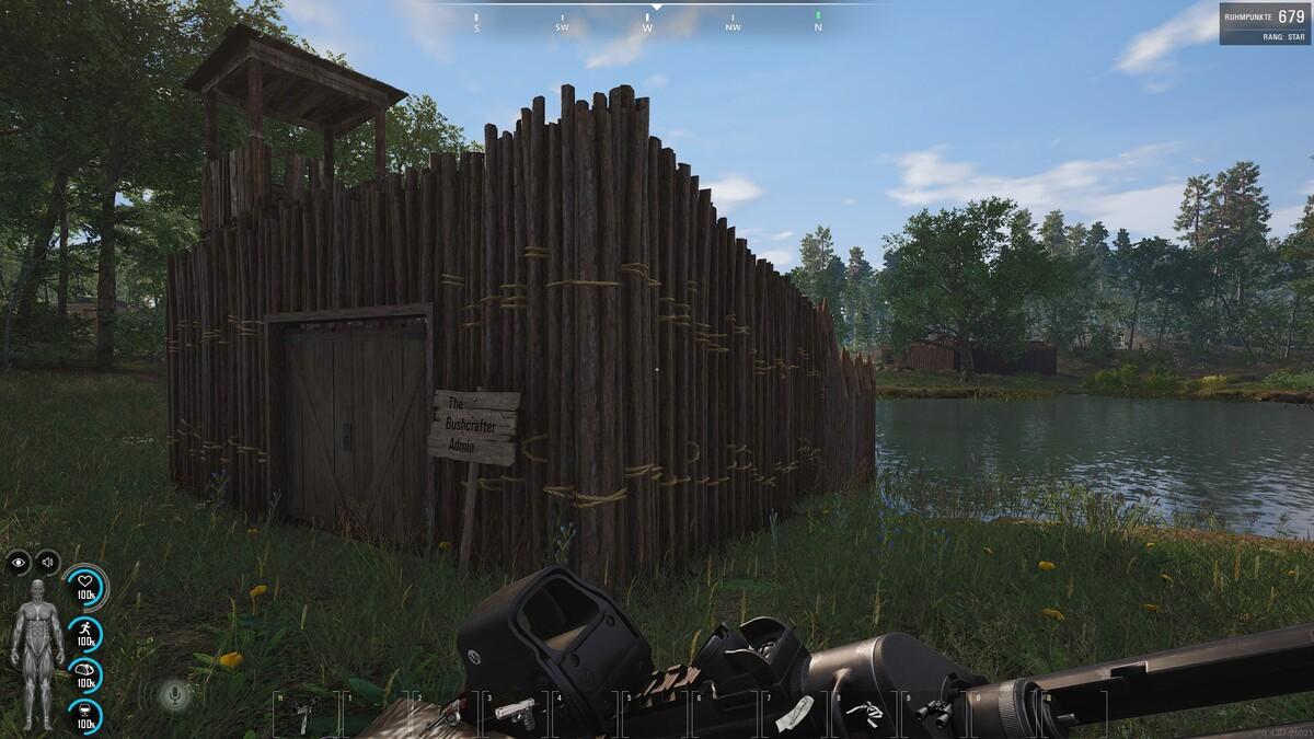 2te Base gebaut