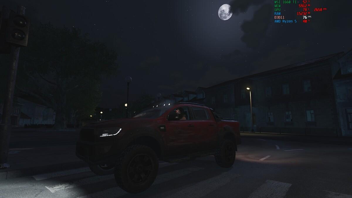 Big City bei Nacht