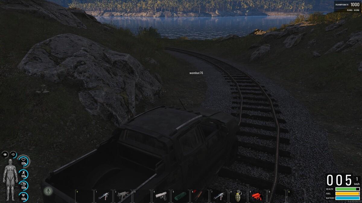Der beste Weg in den Hafen in A2