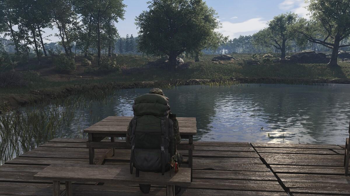 Wunden lecken und ausruhen am See 2