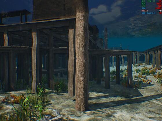 so schaut es unter Wasser aus....