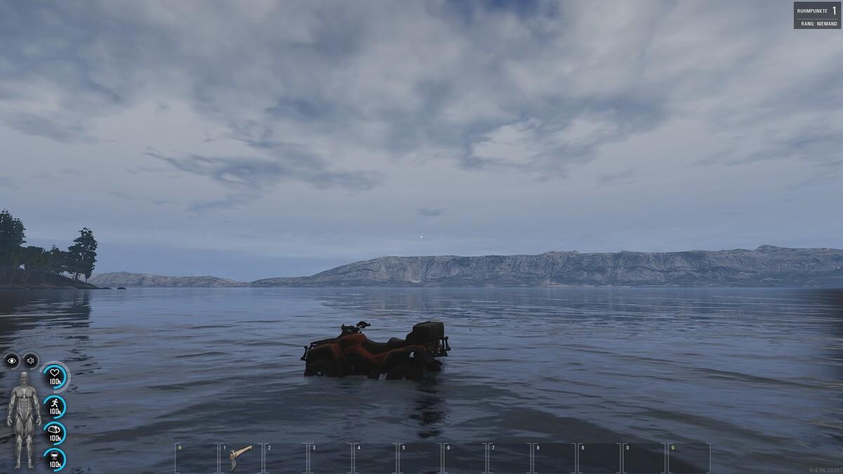 Erstes Wasserfahrzeug gesichtet?