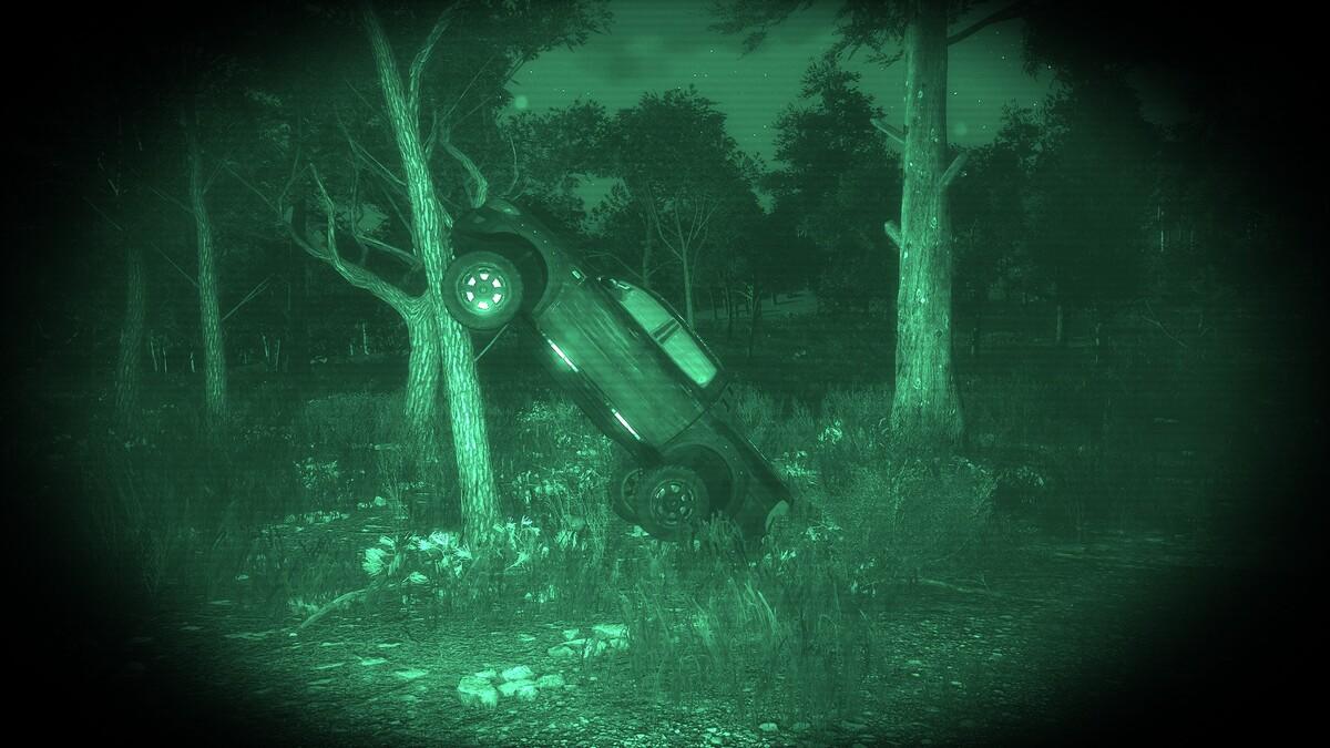 Auto 0:1 Baum