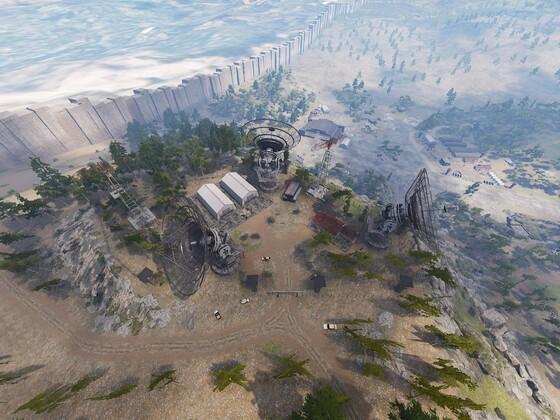 """Militärbasis """"Radar Station"""""""