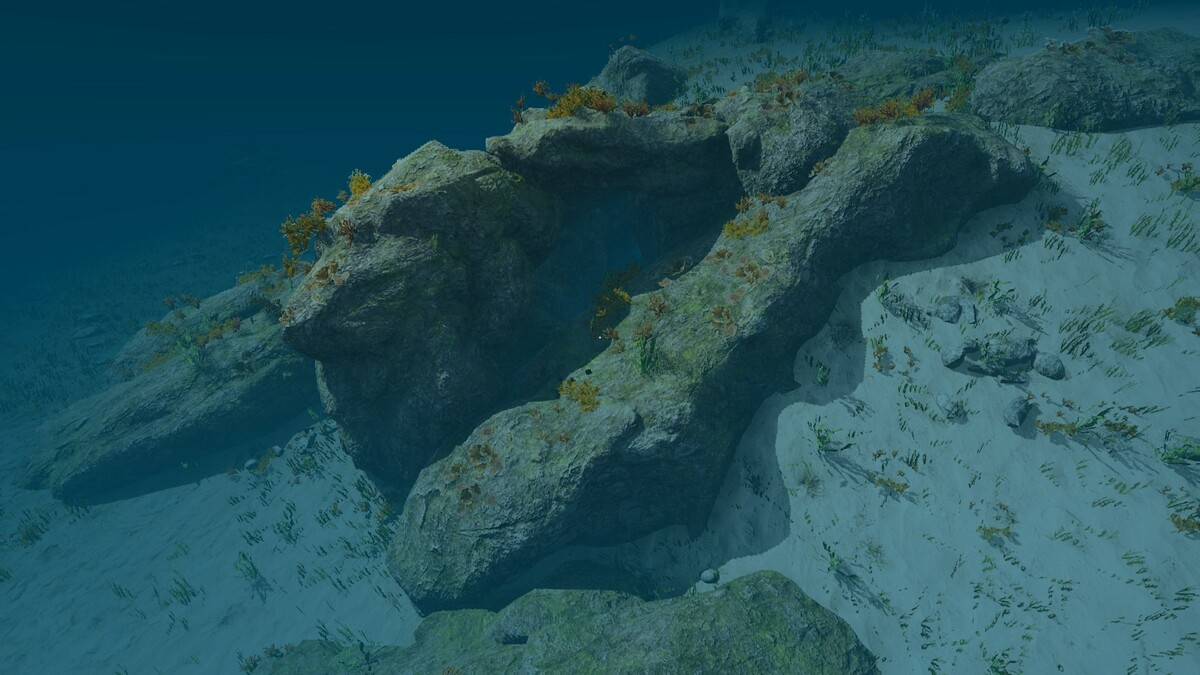 Unterwasserhöhle A3