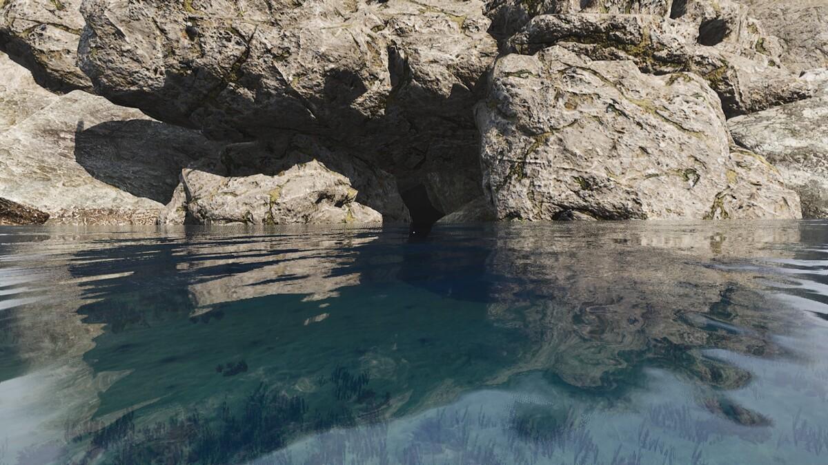 Unterwasserhöhle D4