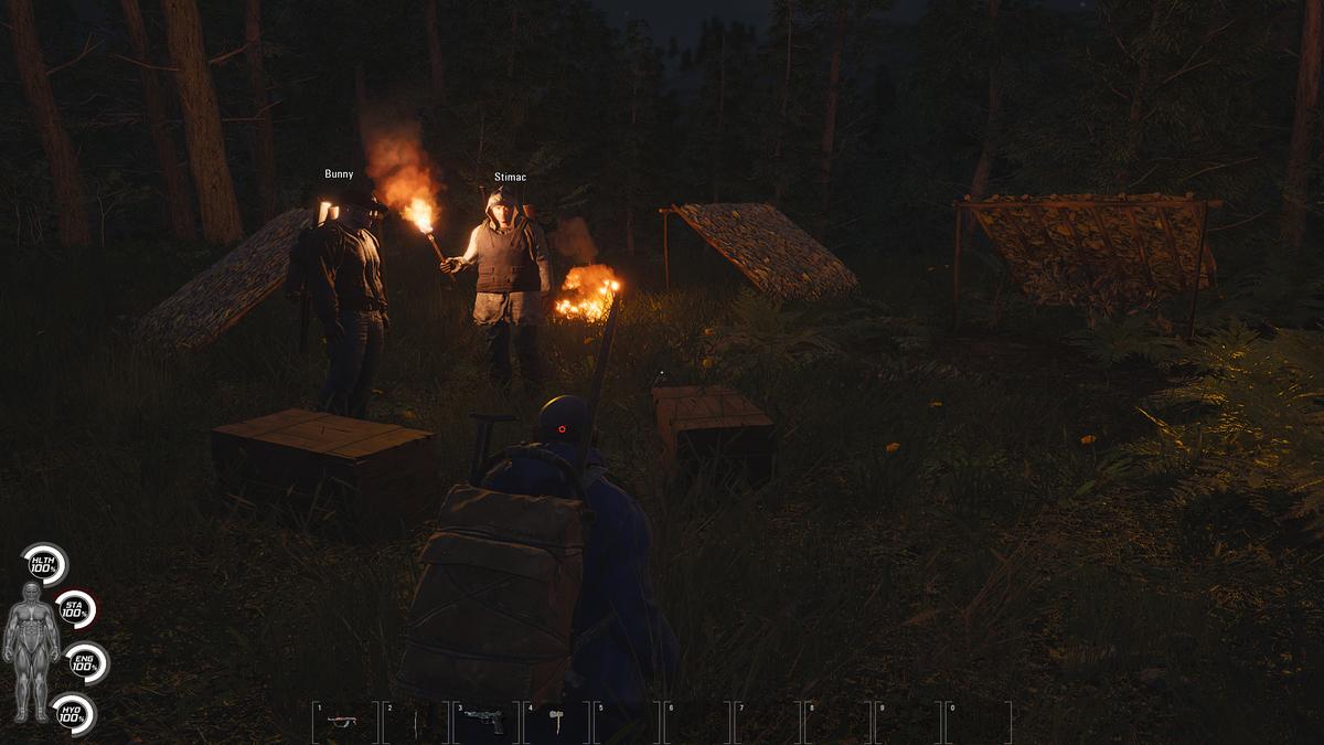 SCUM - Torch Camp