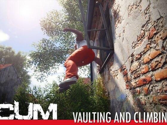 SCUM - Springen und Klettern