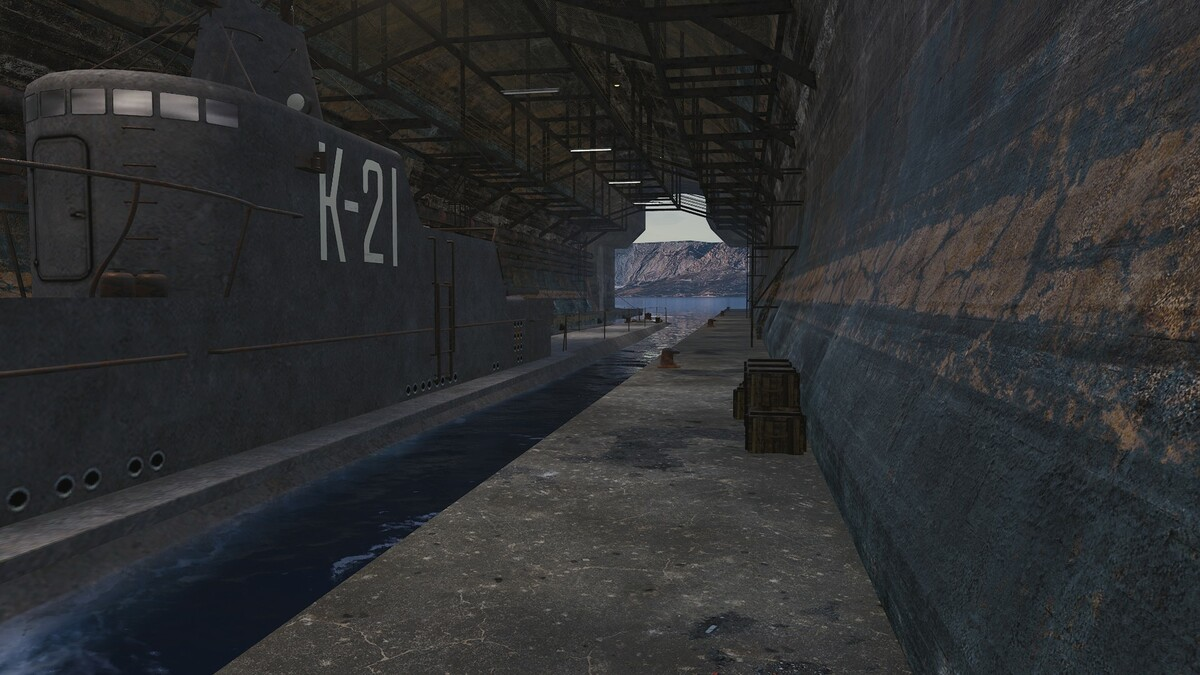 U-Boot Basis im Süd-Westen 3