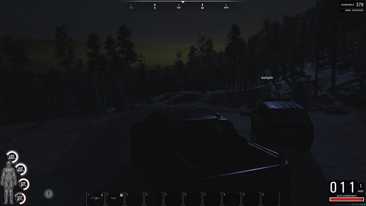 Cooler Nachthimmel