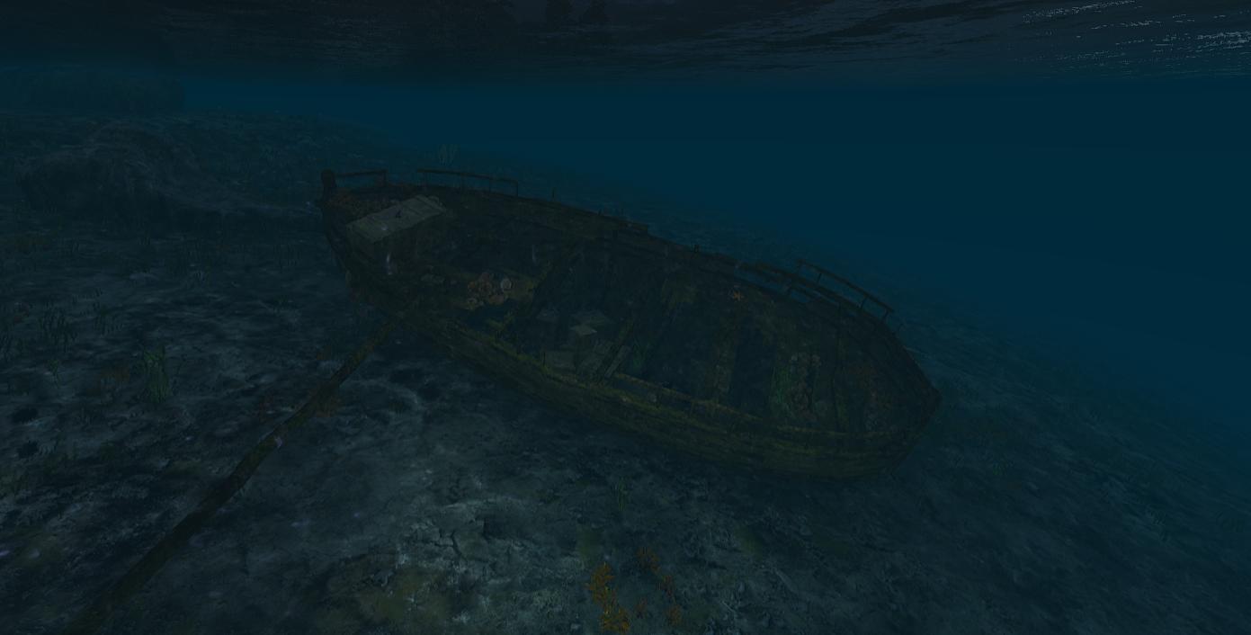 Scum Schiffswracks Kutter
