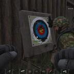 Werfen üben in der Base - Ninja